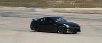 Nissan GT-R Pack Devouring Autocross Course [Video]