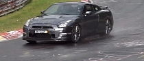 Nissan GT-R Prototype Spied Testing at Nurburgring [Video]
