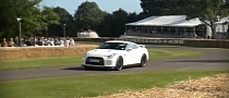 Nissan GT-R Track Pack Tears Up the Goodwood Hill [Video]