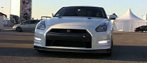 Nissan GT-R with Custom Meisterchaft GT Exhaust [Video]