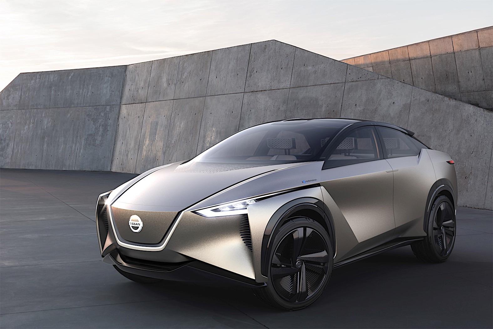 Nissan IMx Kuro Mind-Reading Concept Presented in Geneva ...