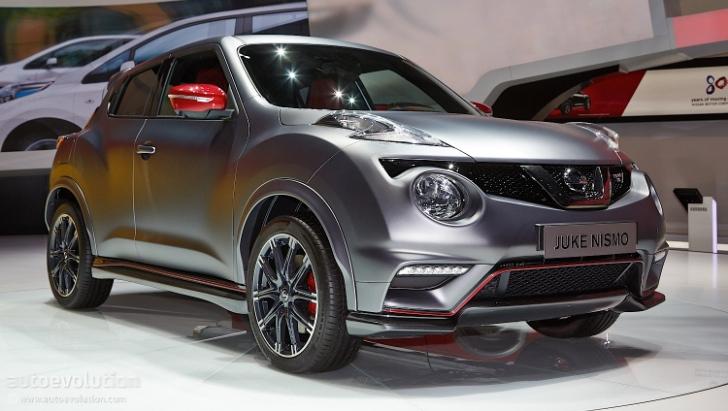 nissan juke nismo rs facelift debuts in geneva with 218 hp. Black Bedroom Furniture Sets. Home Design Ideas