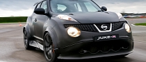 Nissan Juke-R Put Through Its Pace on Track [Video]