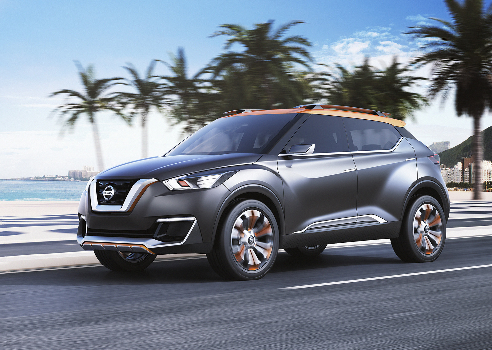 Nissan Kicks Suv To Debut In 2016 As The Official Car Of 2017 Murano Crosscabriolet