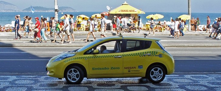 """Nissan Leads the """"Global Electric Taxi Revolution ..."""