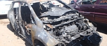 Nissan Leaf Battery Pack Survives Massive Fire!