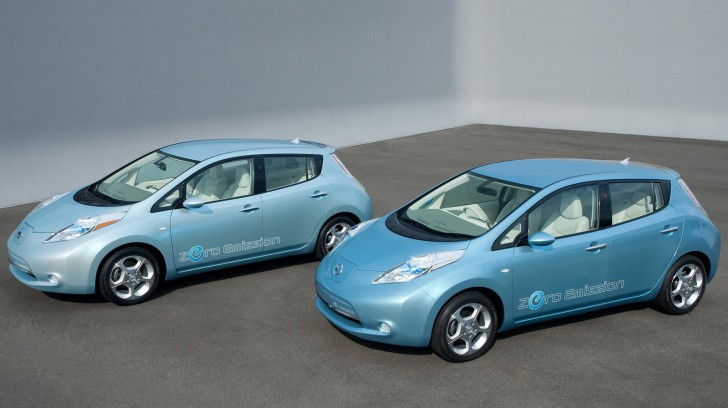 Nissan Leaf Beats Chevrolet Volt in September Sales