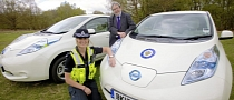 Nissan LEAF Becomes a Police Car in West Midlands, UK
