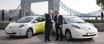 Nissan Leaf Handed to London Mayor