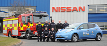 Nissan Leaf Joins Fire Rescue Service