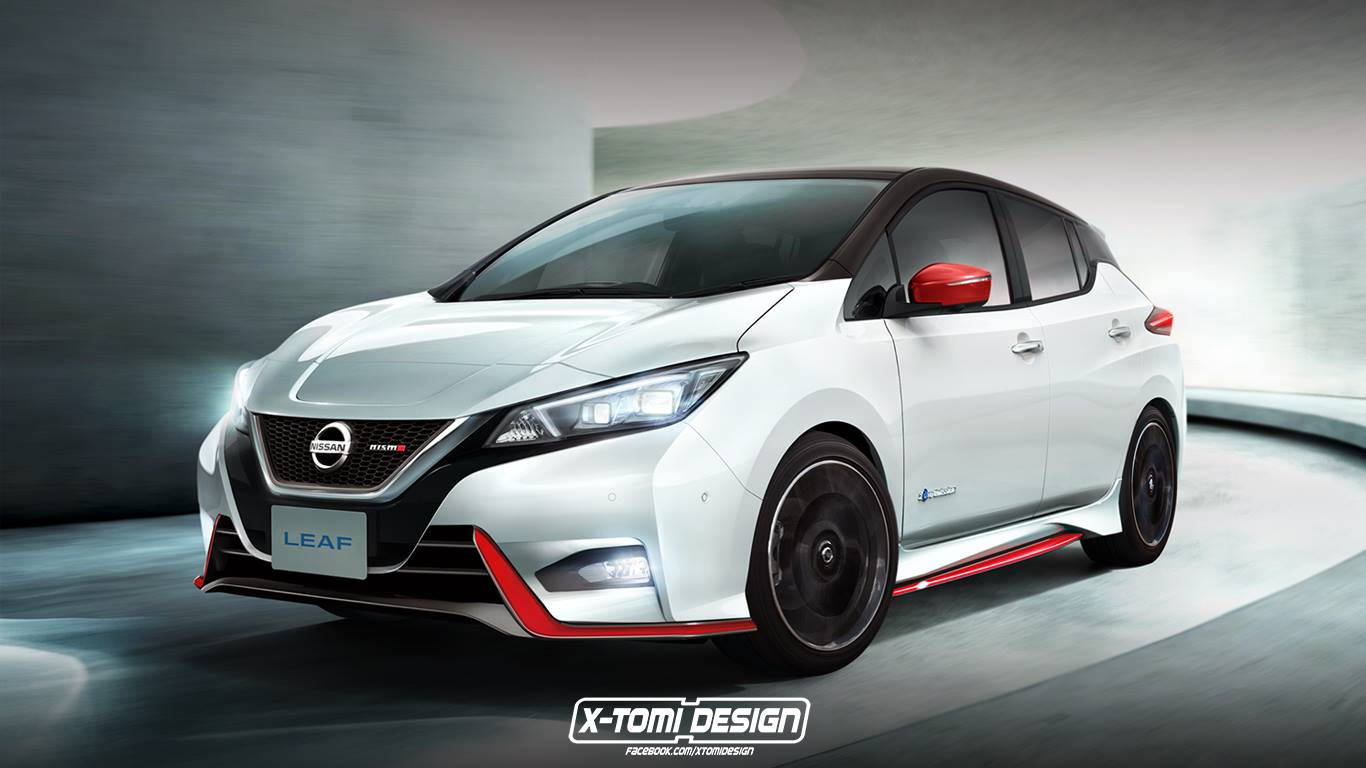 Nissan Leaf Nismo Could Look This Good - autoevolution