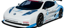 Nissan Leaf  NISMO RC at the New York Auto Show