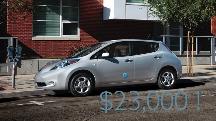 West Coast Auto Sales >> Nissan Leaf Now $5,000 Cheaper at West Coast Dealers! - autoevolution