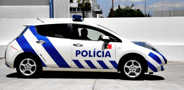 Nissan Leaf Ready for Police Duty in Portugal