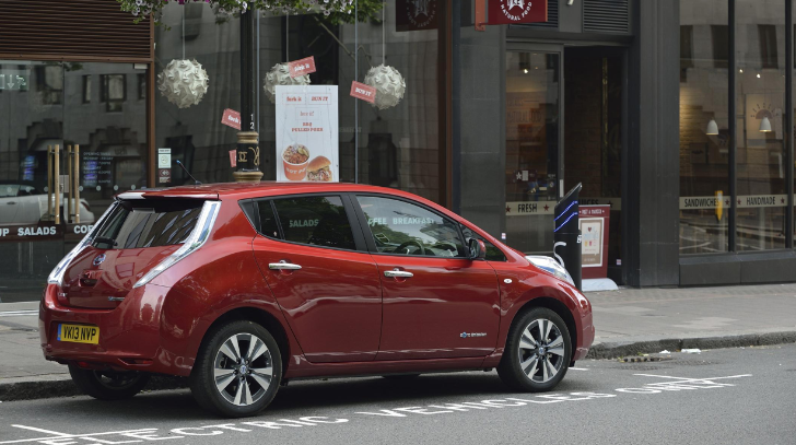 Nissan Leaf Remains Congestion Charge Exempt in London