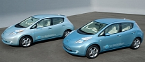 Nissan Leaf Takes Electric Vehicle of the Year Award in Britain
