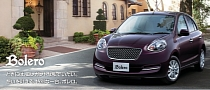 Nissan March Bolero: the Micra With a Bentley Grille! [Photo Gallery]