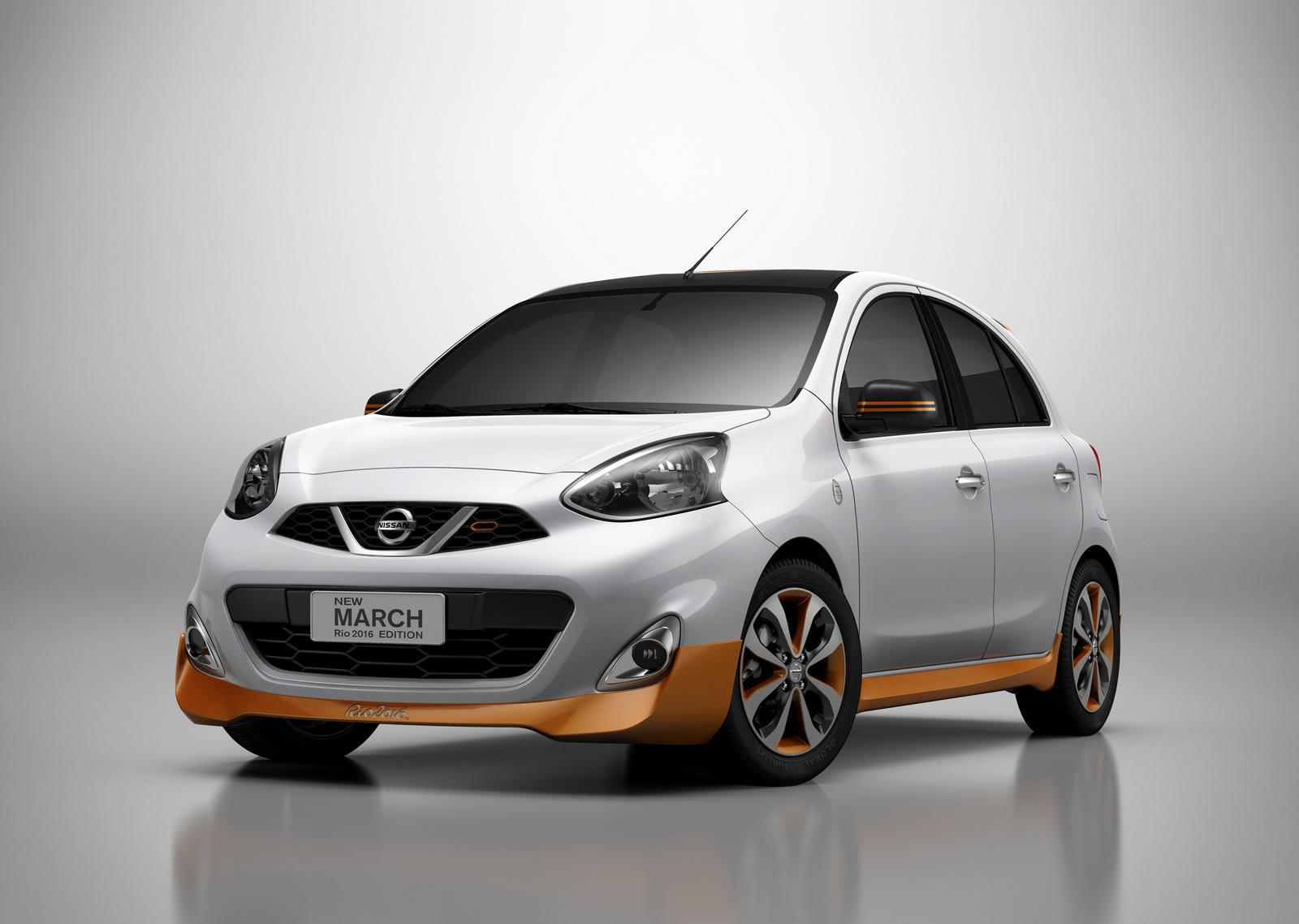 Nissan March Rio 2016 Edition Is a Micra with a Gold Body Kit