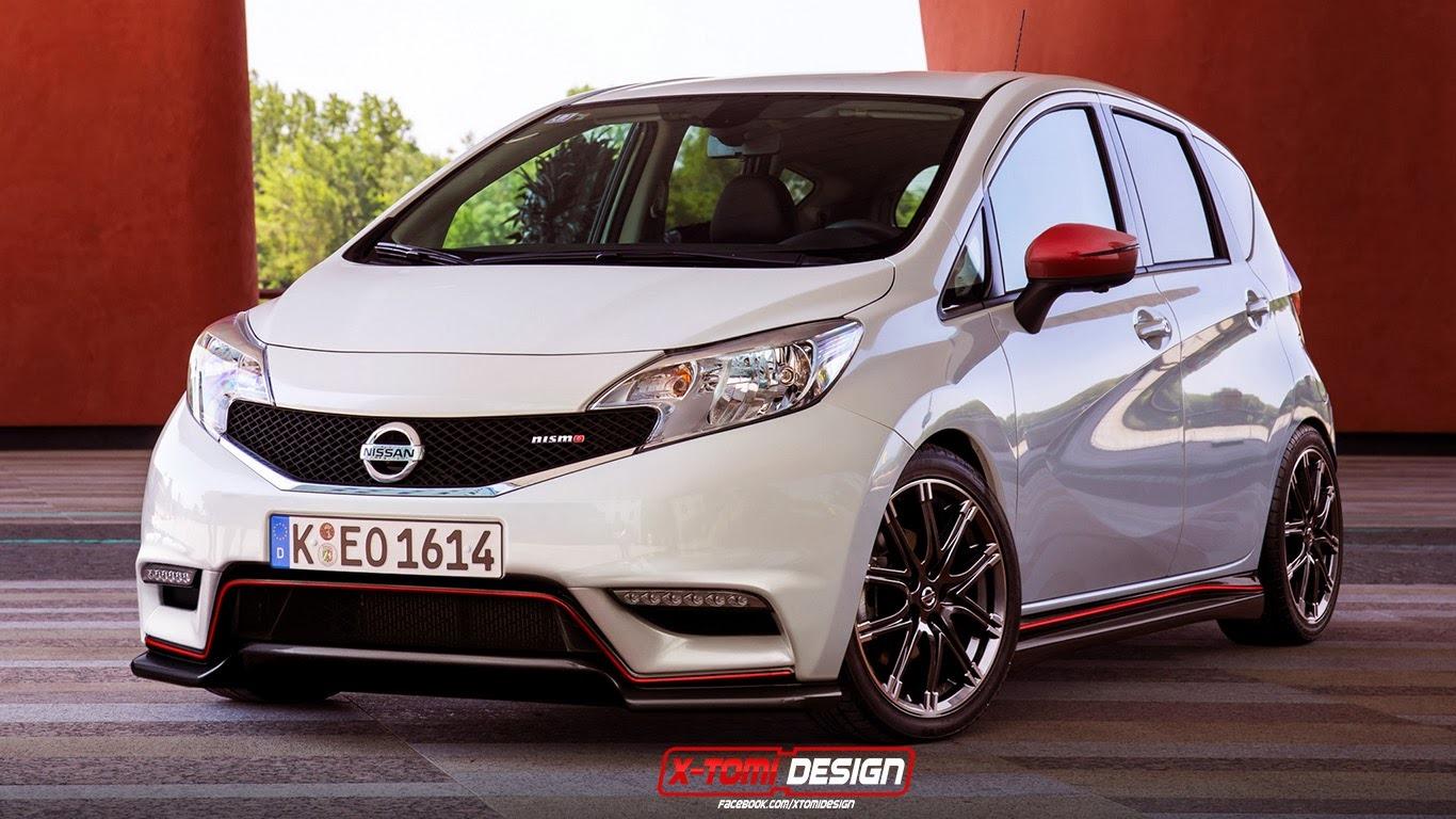Nissan Note Nismo Rendering Autoevolution