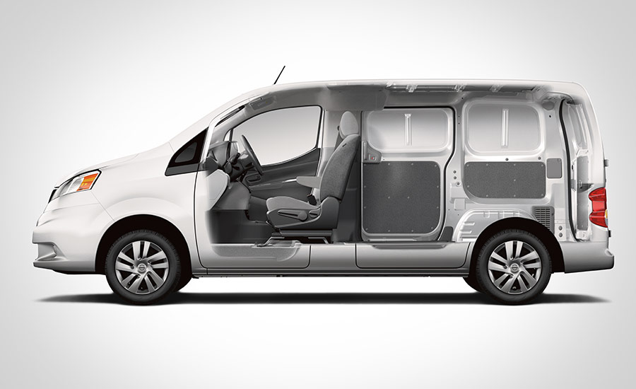 nissan nv200 compact cargo gets more equipment for 2017 autoevolution. Black Bedroom Furniture Sets. Home Design Ideas