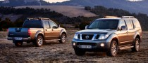 Nissan Pathfinder and Navara Facelift First Photos