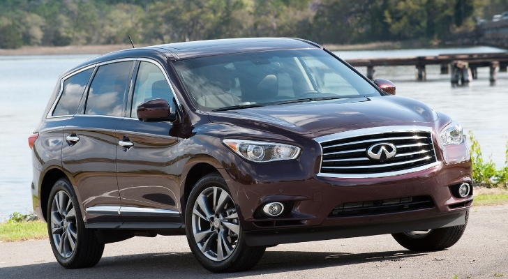 Nissan Pathfinder, Infiniti JX35/QX60 Recalled over Braking Issue
