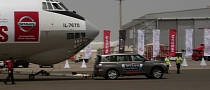 Nissan Patrol Pulls 170-Ton Plane, Sets New World Record [Video]