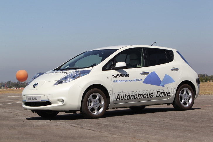 Nissan Pledges Autonomous Production Car by 2020