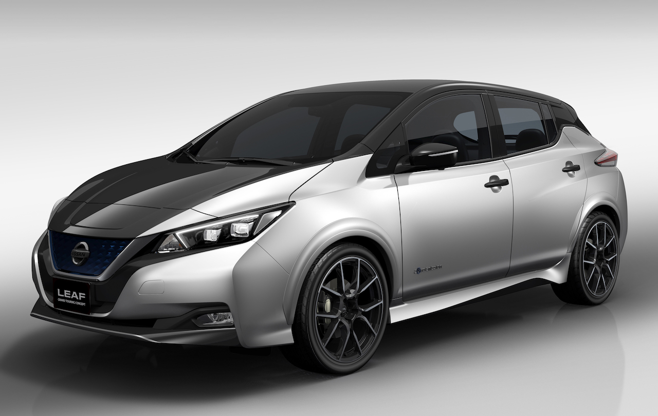 nissan previews leaf grand touring concept ahead of tokyo. Black Bedroom Furniture Sets. Home Design Ideas