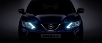 Nissan Reveals New Qashqai Crossover's Front End in Teaser Photo