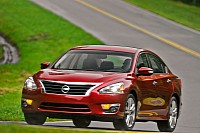 The 2013 Altima, the first car to get the new Nissan system