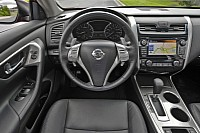 The interior of the new Altima that will arrive on the market very soon