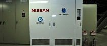 Nissan Stores Solar Power Using LEAF Batteries