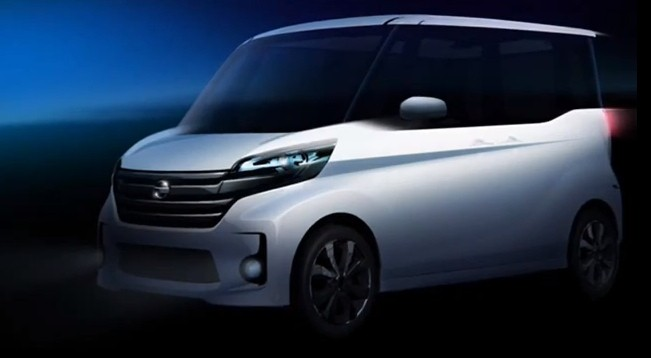 "Nissan Teases ""Super Height Wagon"" Minicar"