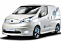 Nissan to Debut Electric and Cab Versions of NV200 in Britain