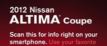 Nissan to Launch QR Codes Starting 2012