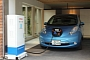 Nissan Unveils Systems That Allow LEAF to Power a House
