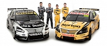 Nissan Unveils V8 Supercars Vehicles, Moffat & Caruso Join the Team