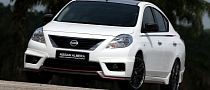 Nissan Versa/Sunny Nismo Performance Package Concept Revealed [Photo Gallery]