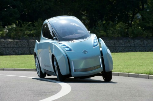 Nissan Working on Upscale Twizy EV