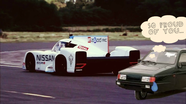 Nissan Zeod Rc Laps The Top Gear Track Faster Than A Ferrari Fxx