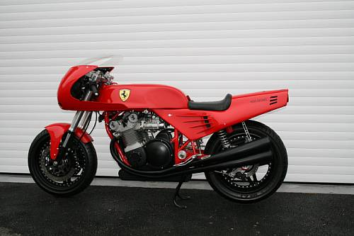 No Buyers For The Auctioned Ferrari Motorcycle Autoevolution