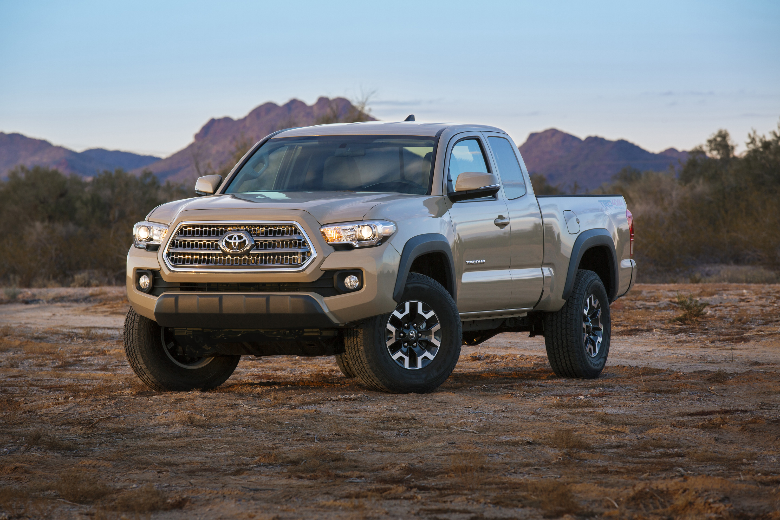 No Diesel Engines For The Updated Toyota Tacoma