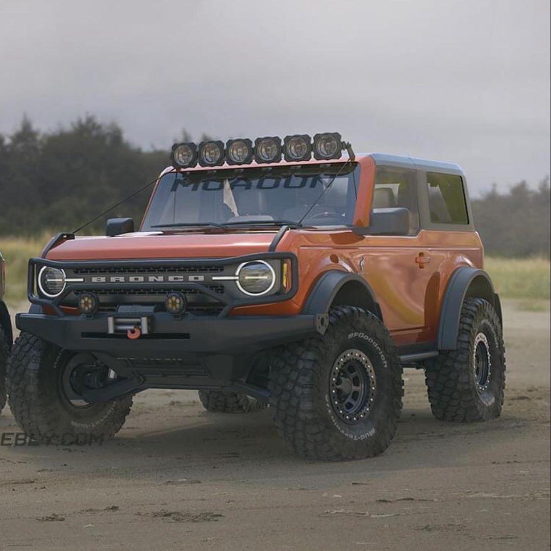 2021 Ford Svt Bronco Raptor Wallpaper