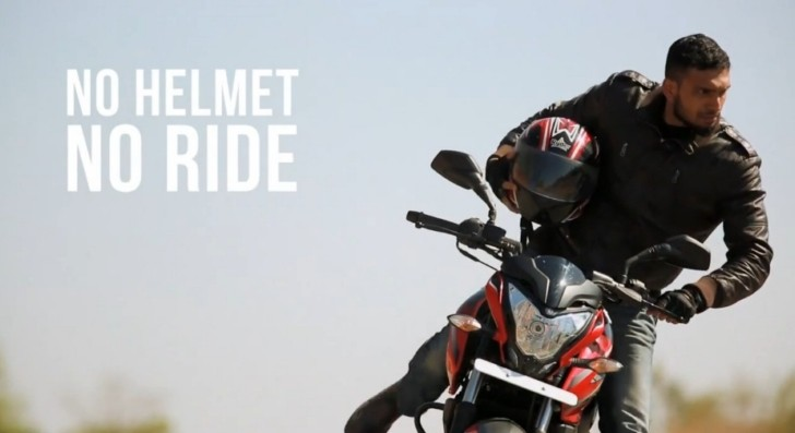 No Helmet No Ride One Ultra Cool Safety Campaign In