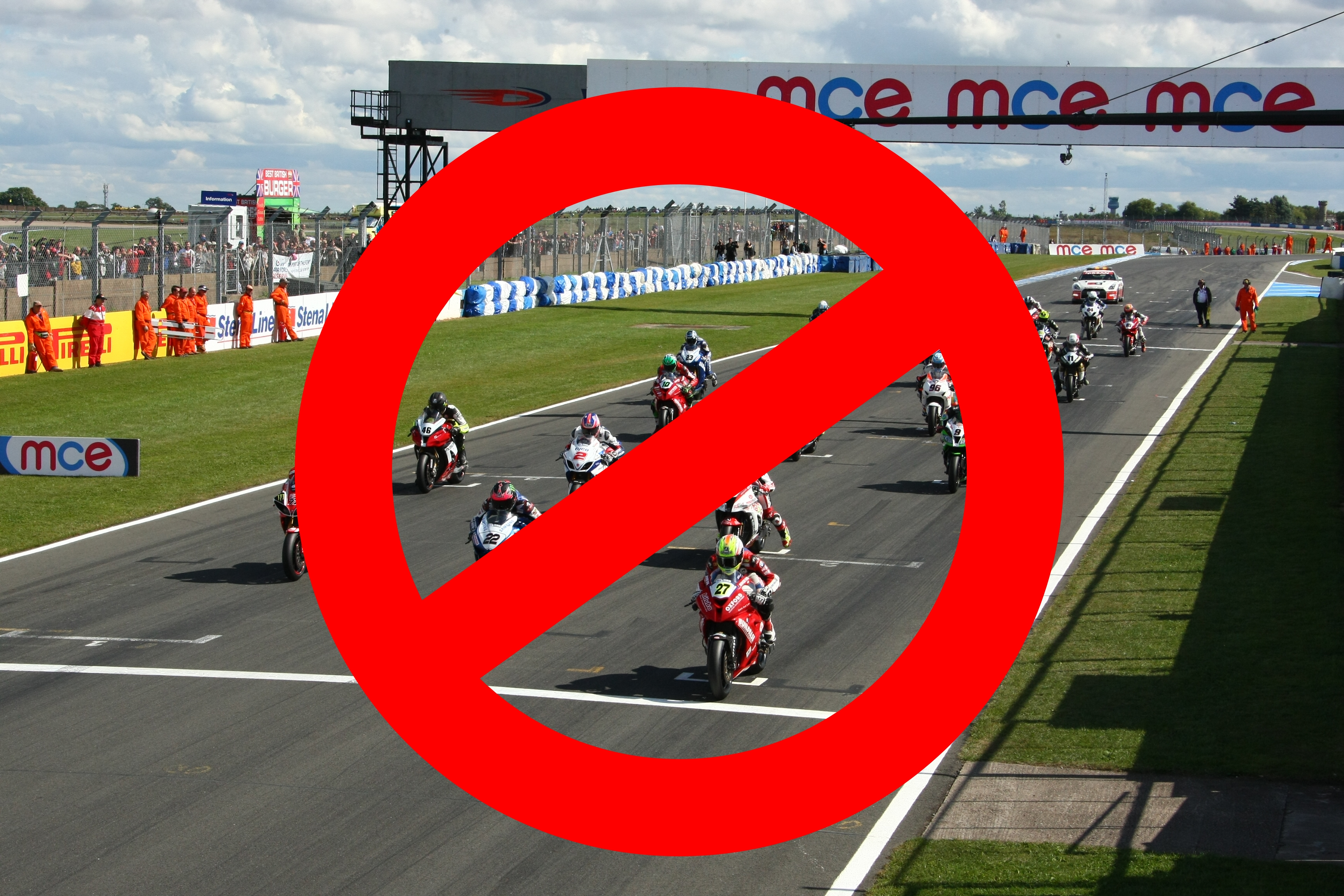 No More Motogp Action At Donington This Year The Circuit Of Wales