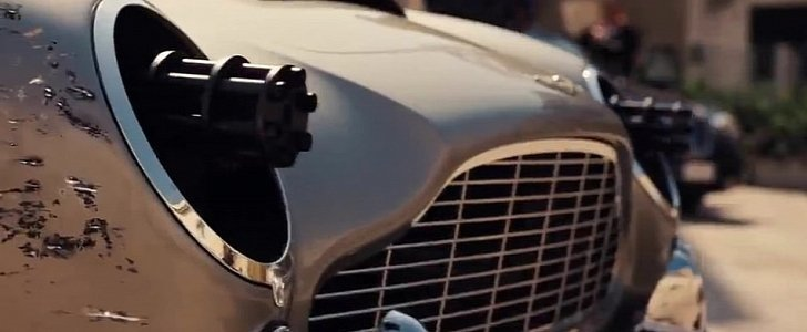 No Time to Die First Teaser: DB5 with Gatling Guns for Headlights ...