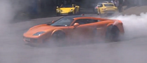 Noble M600 Does Crazy Smoking Donuts at Goodwood [Video]