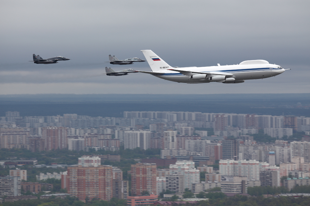 Thieves steal electronic manuals from Russia's 'doomsday plane'