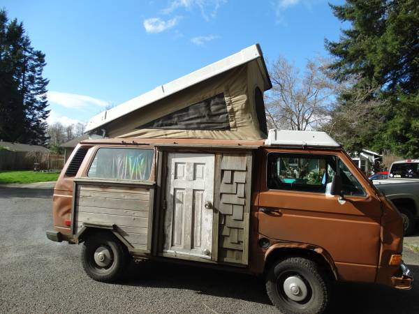 Not Sure If This Vw Vanagon Shouldn T Be Listed In The